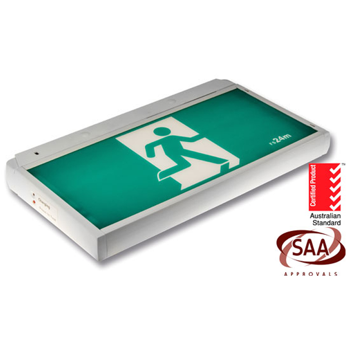 SAA LED exit signs