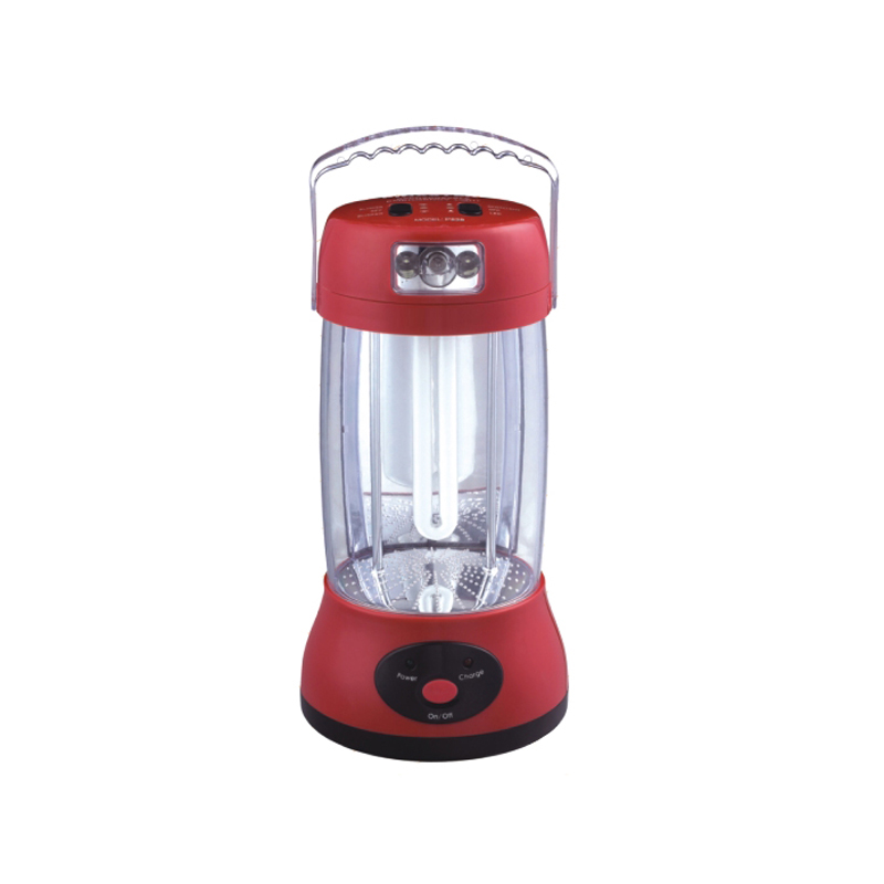 U tube rechargeable emergency light