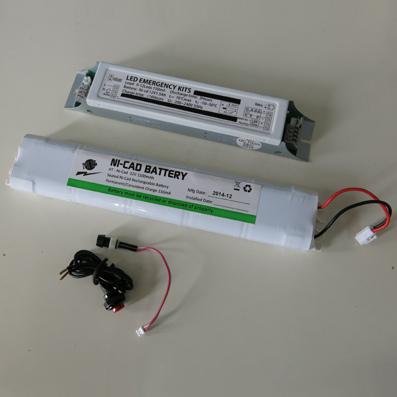 exit sign battery