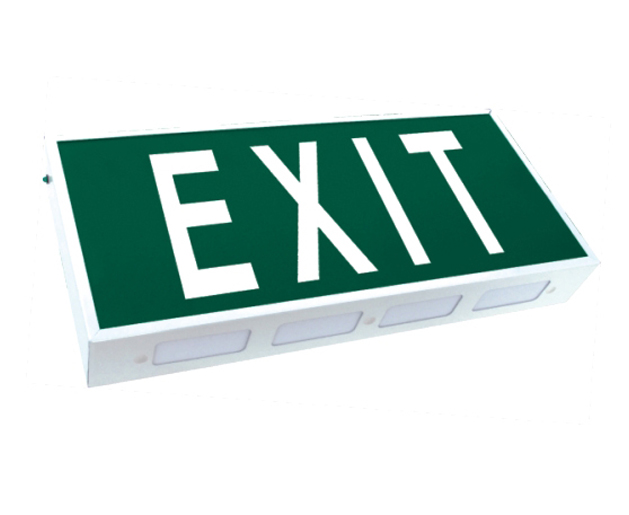 8W exit sign board