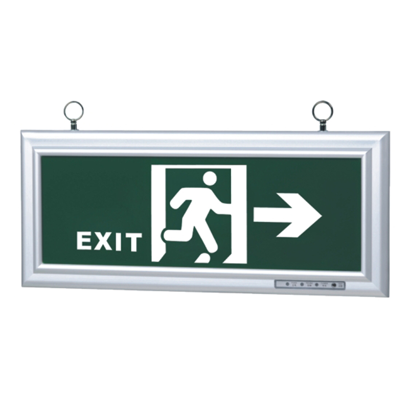 5W single exit sign