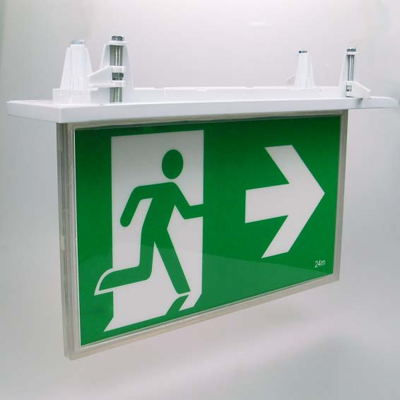 emergency exit signs australian standard