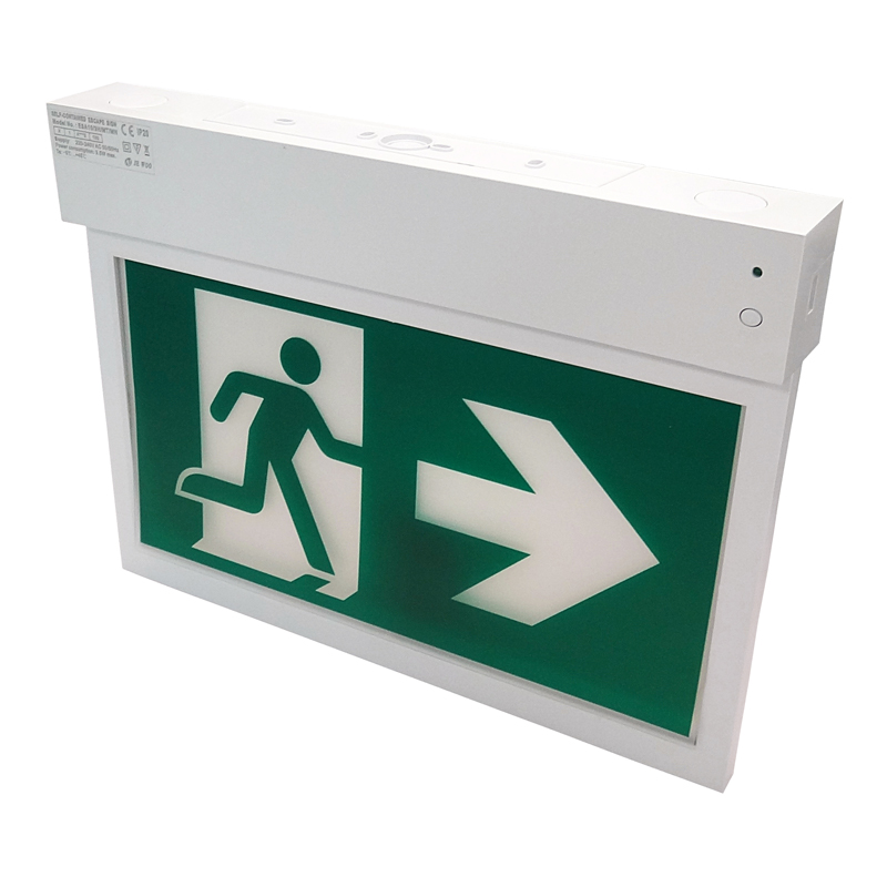 Emergency exit sign Europe
