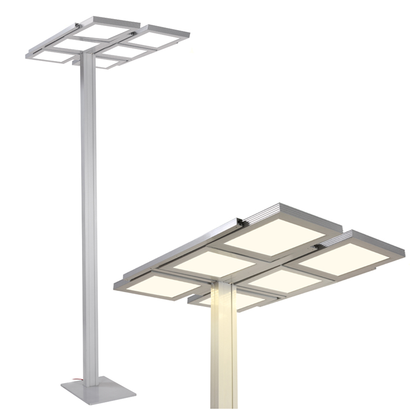 Panel LED floor lamps