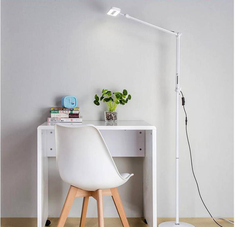 18W annular floor lamp
