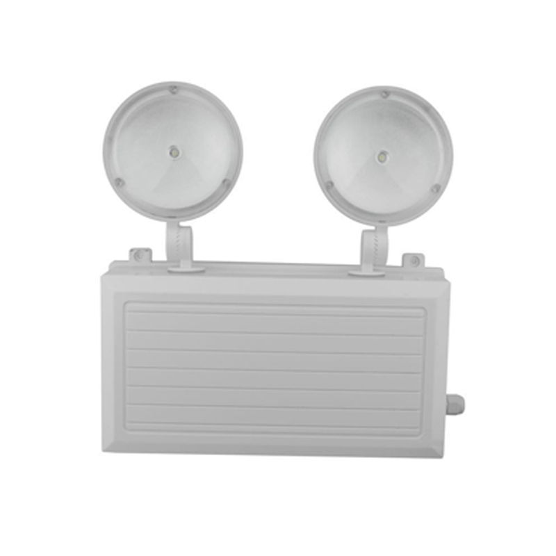 Waterproof Twin Heads LED Emergency Light SAA