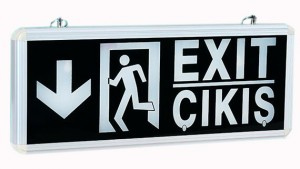 emergency exit sign manufacturer China