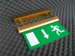 exit sign brazil