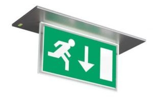 China led exit signs factory