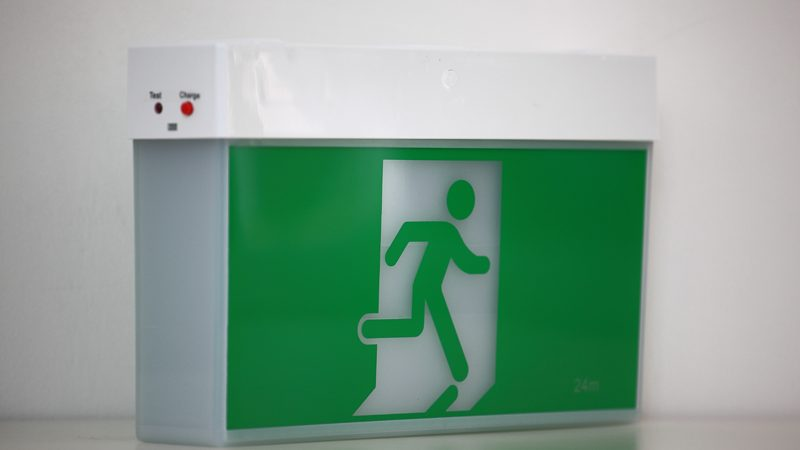 fire exit light signs China