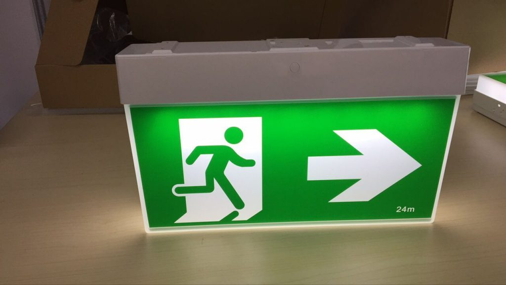 emergency exit lighting manufacturers