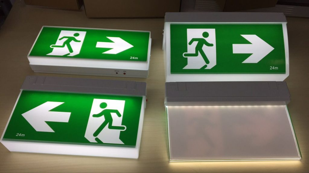 emergency exit signs China